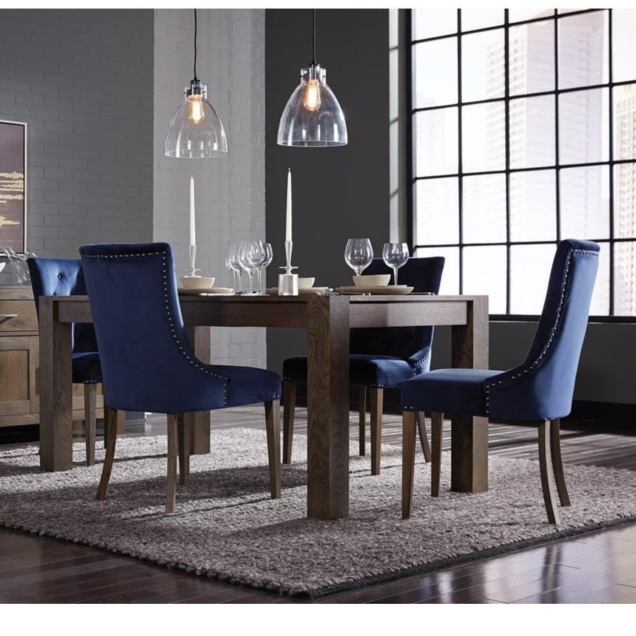 Gardiner-Saylor 5-Piece Table and Chair Set by Palliser at Jordan's Home Furnishings