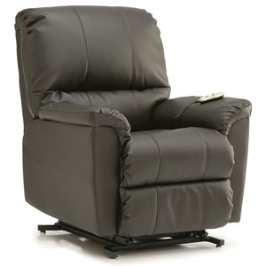 Casual Power Lift Chair with Bustle Back
