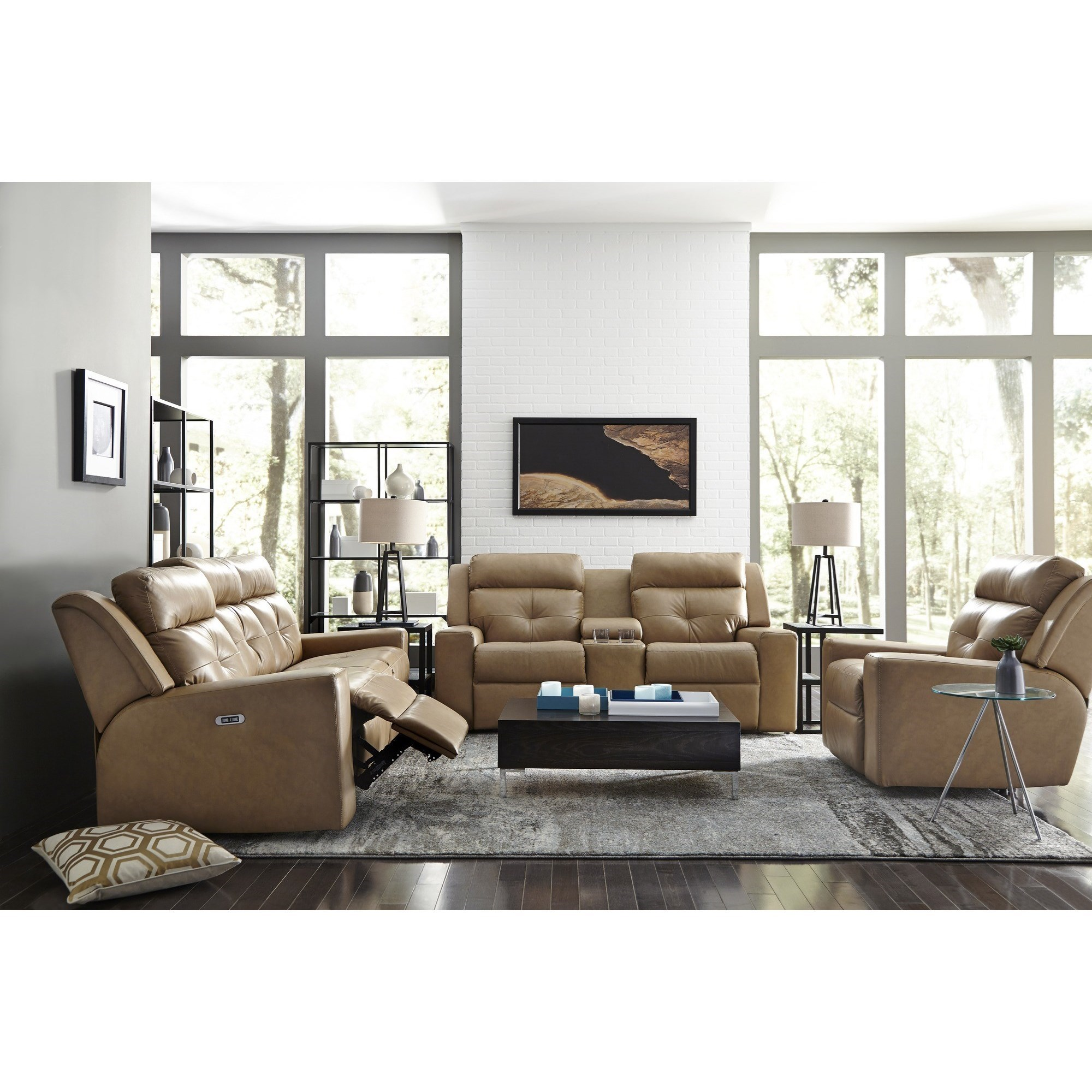 Grove Reclining Living Room Group by Palliser at Jacksonville Furniture Mart