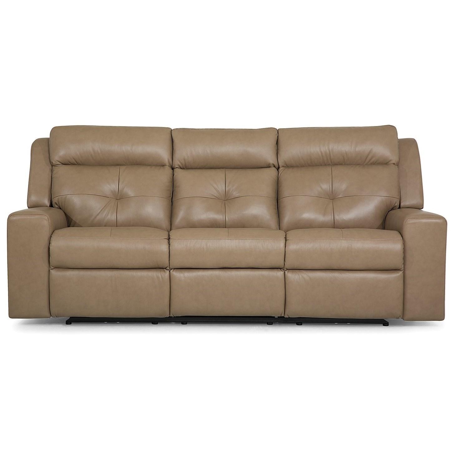 Grove Sofa PwrRecliner w/ Power Headrest by Palliser at Mueller Furniture