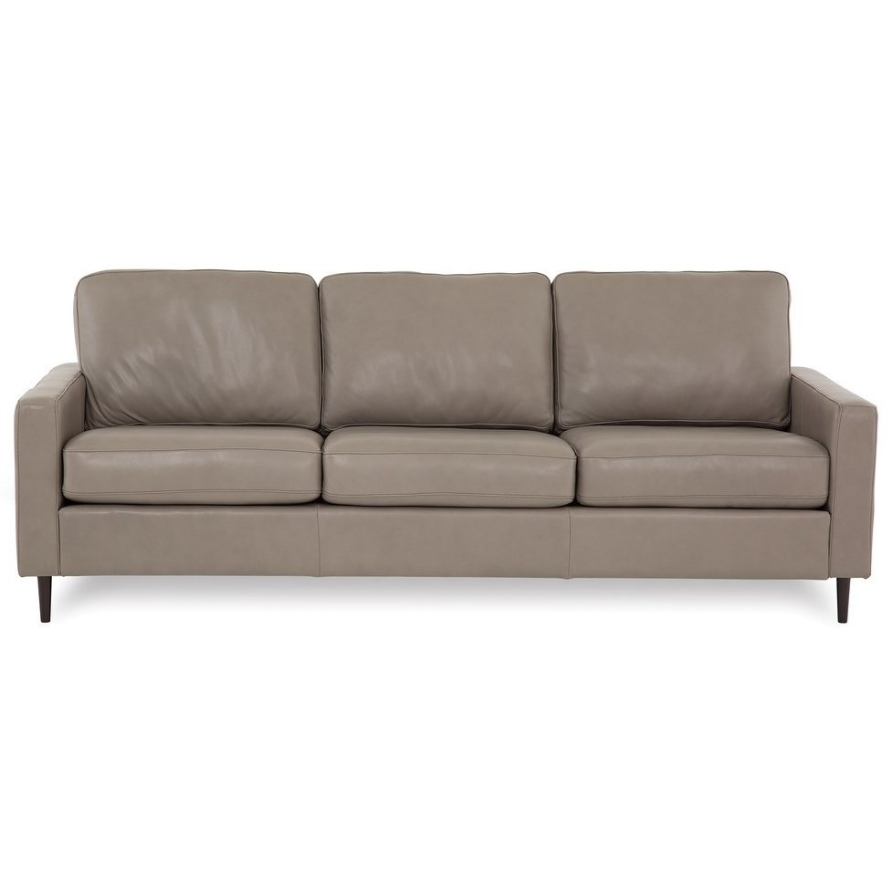 Inspirations - Emilia High Leg Sofa by Palliser at Belfort Furniture
