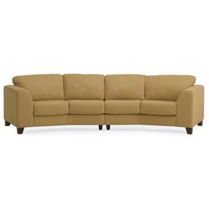 Palliser Juno Elements 77094 Angled Sectional Sofa