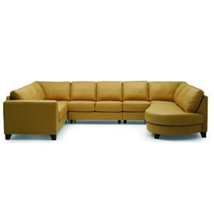 Palliser Juno Elements 77494 Chaise and Sofa Sectional