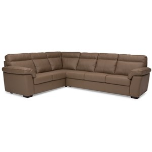Casual 2 Piece Sectional with Right Hand Facing Sofa