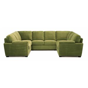 Palliser Lanza Five Piece Sectional Sofa