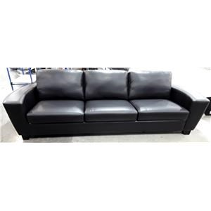 Contemporary Sofa with Curved Track Arm