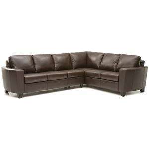 Contemporary 2-piece Sectional with LAF Sofa