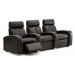 Reclining Home Theater Seating W/Cup Holders