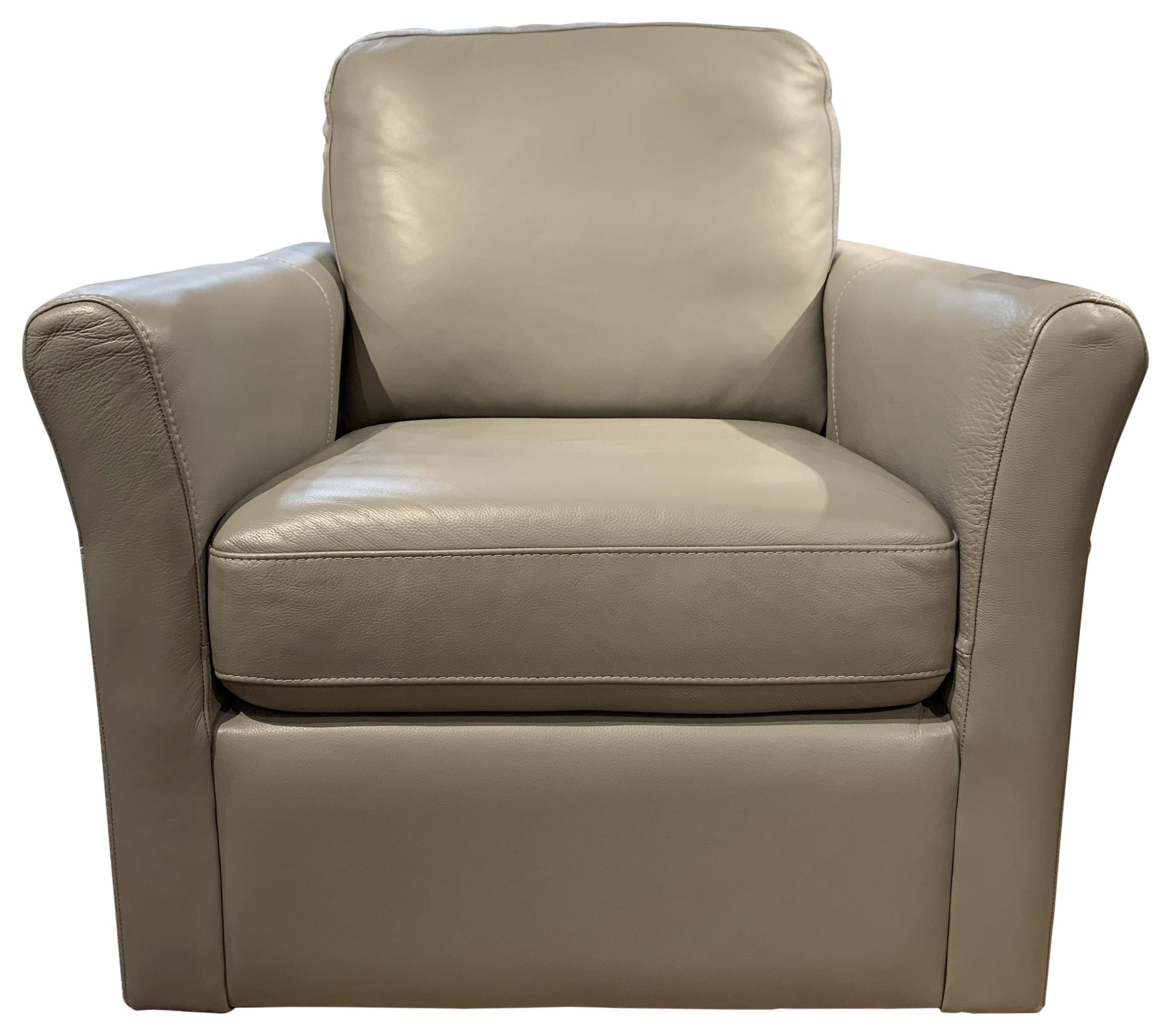 Madeline Swivel Chair by Palliser at HomeWorld Furniture