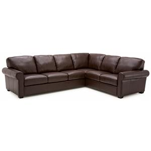 Palliser Magnum 2 pc. Sectional with RHF Sofa Split