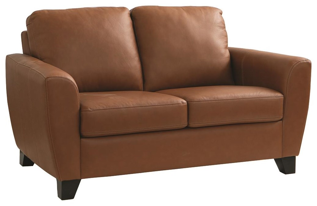 Marymount Leather Loveseat by Palliser at Darvin Furniture