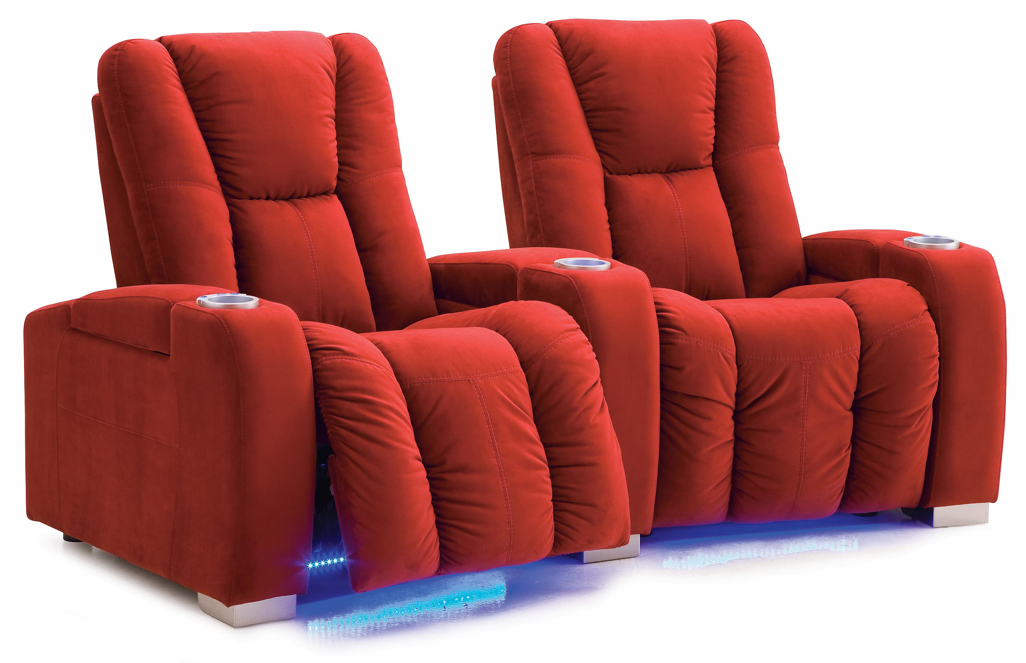 Media Reclining Manual 2-Seater Sectional by Palliser at Mueller Furniture