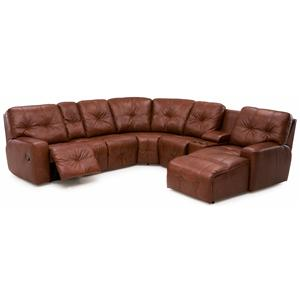 Palliser Mystique Reclining Sectional Sofa
