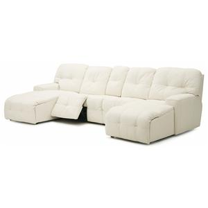 Palliser Mystique Reclining Chaise Sectional