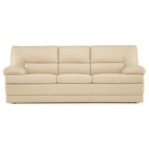 Contemporary Sofa w/ Pillow Arms