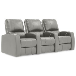 Power Reclining Home Theater Sectional Sofa