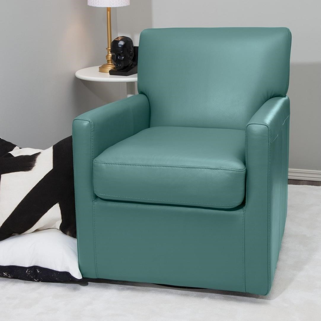 Pia Swivel Chair by Palliser at SuperStore