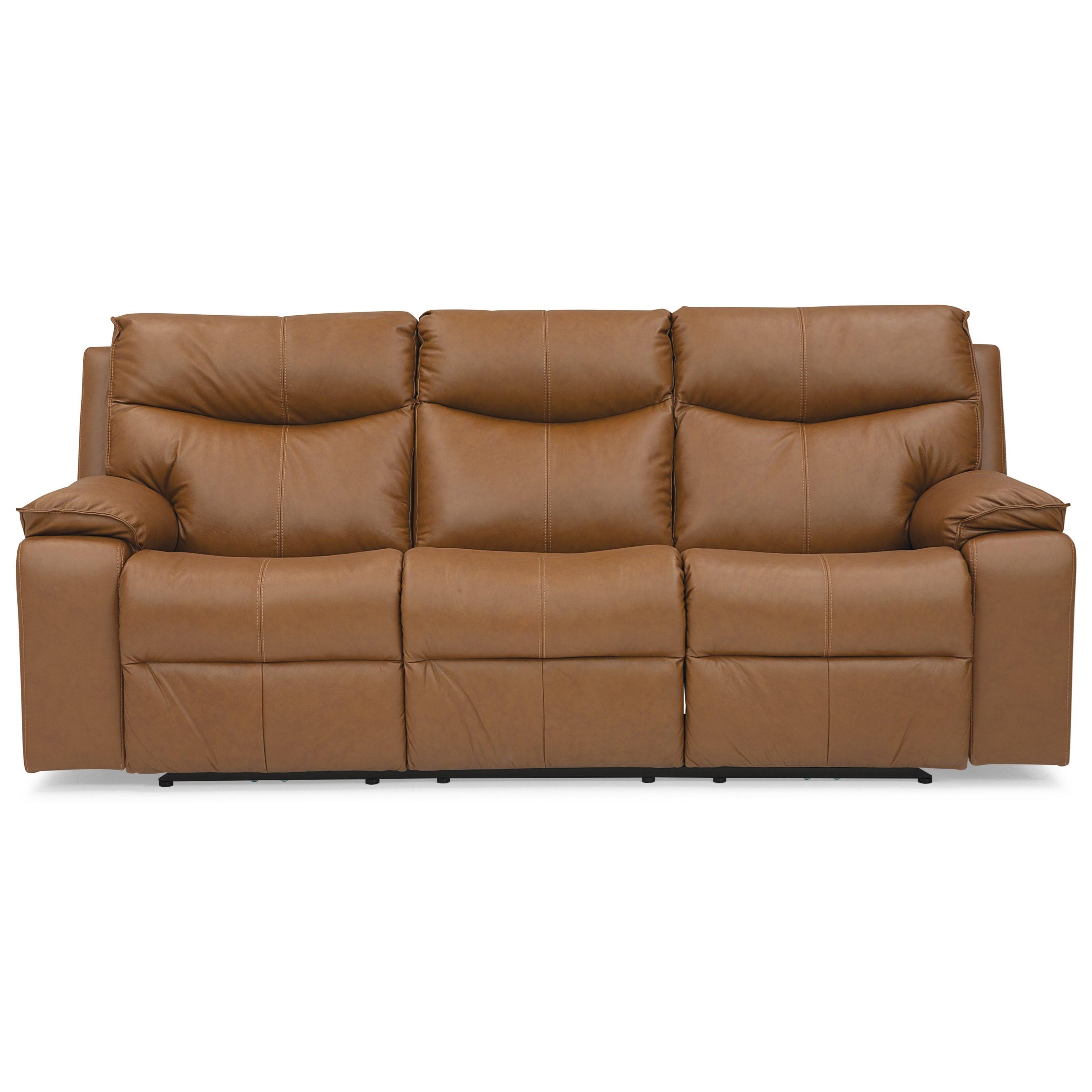 Providence Sofa w/ Power Recline by Palliser at Jordan's Home Furnishings