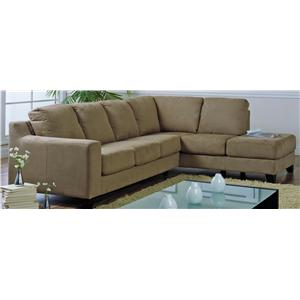 Palliser Reed Upholstered Sectional