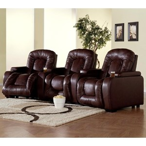 3-Piece Power Motion Theater Seating