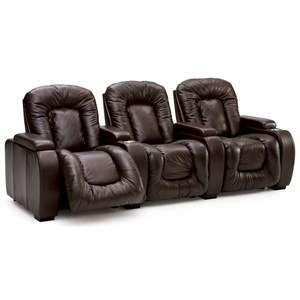 3-Piece Reclining Theater Seating