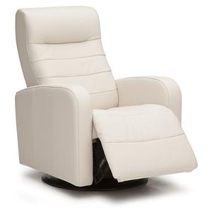 Modern Swivel Glider Power Recliner