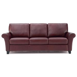 Transitional Sofa with Flared Arms