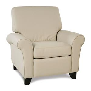 Transitional Pushback Reclining Chair
