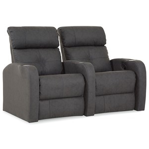 Contemporary 2 Seat Power Theater Seating