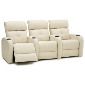 Contemporary Theater Seating Power Sectional