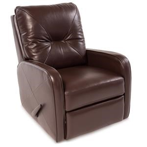 Contemporary Swivel Rocking Reclining Chair