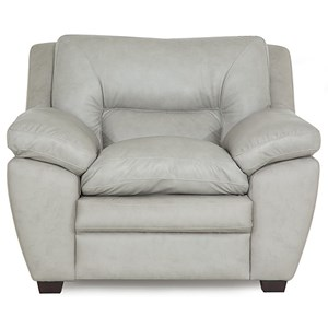 Casual Chair with Pillow Arms