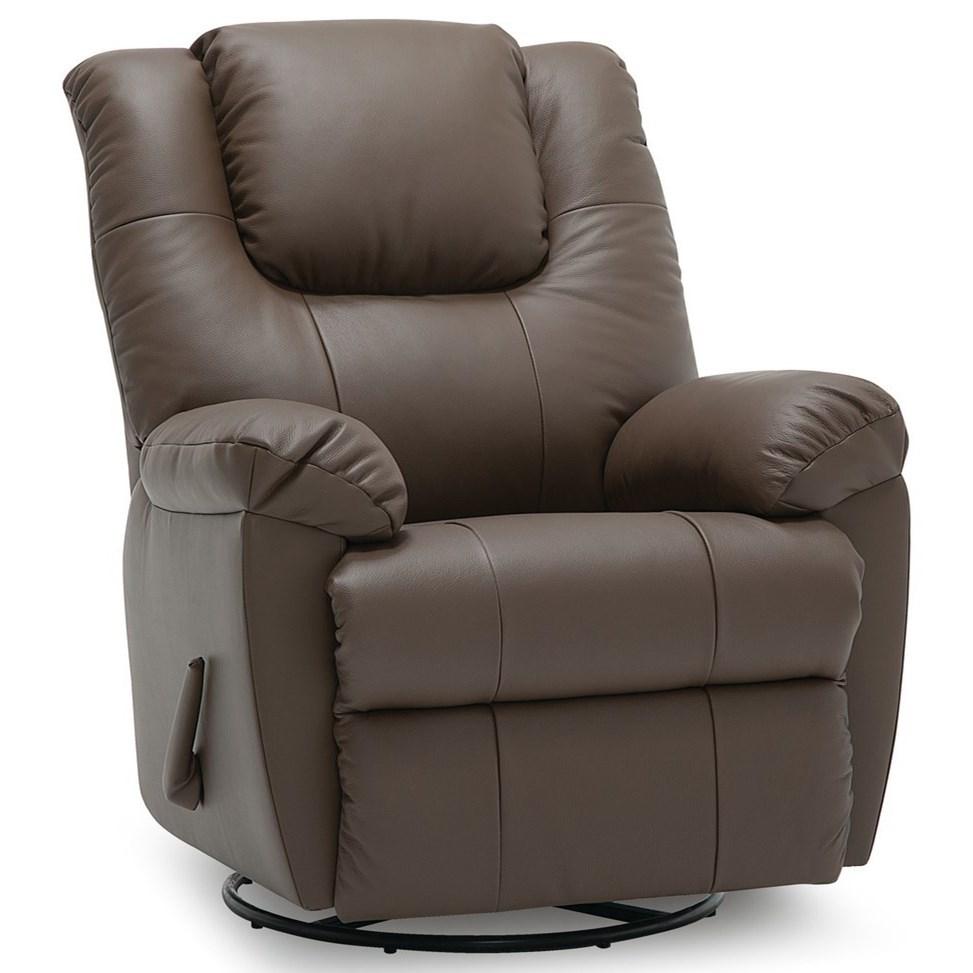 Tundra Swivel Rocker Recliner Chair by Palliser at Furniture and ApplianceMart