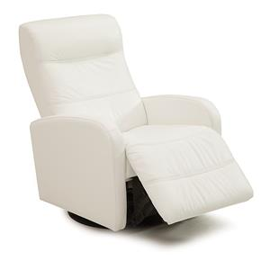 Contemporary Swivel Glider Power Recliner