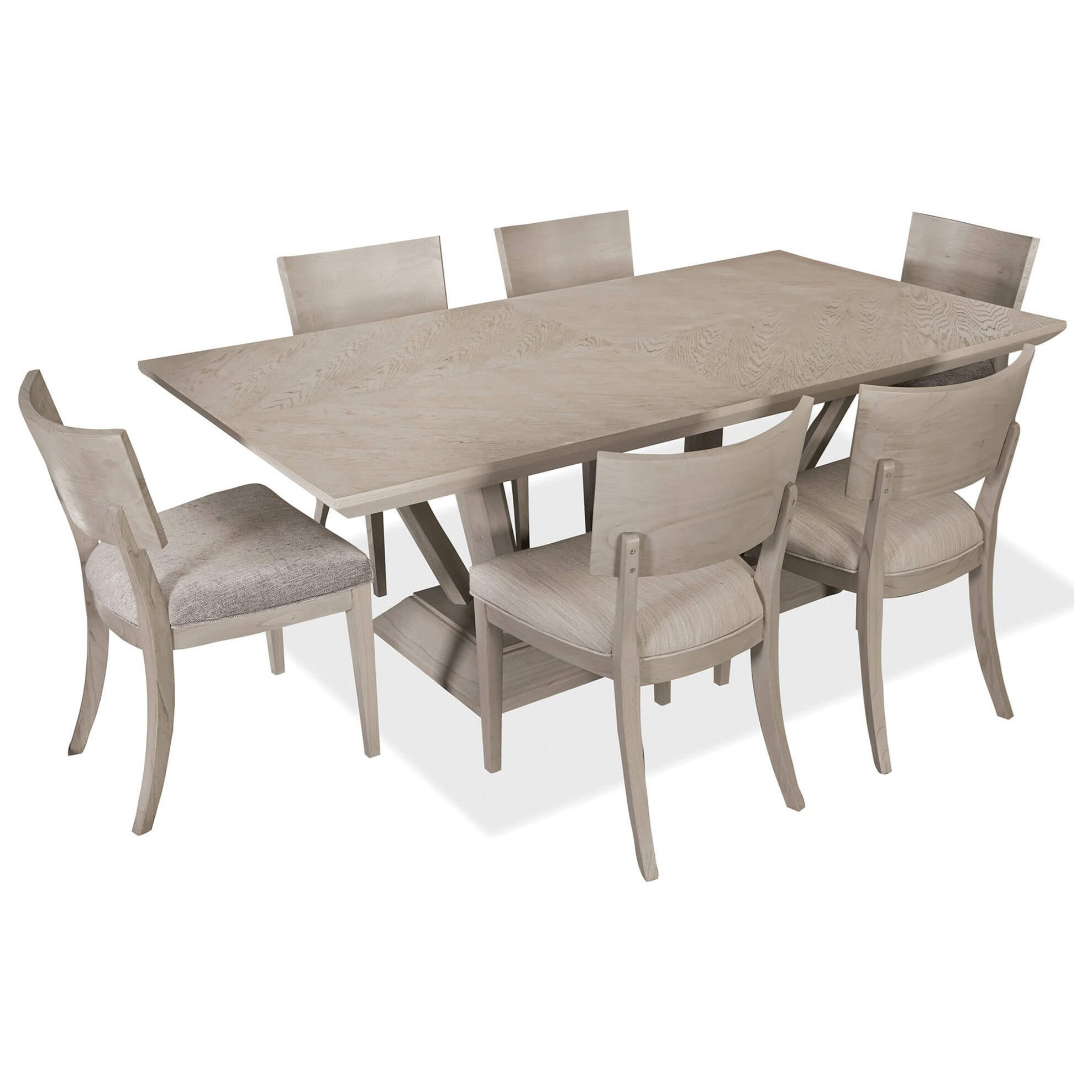Vista 7-Piece Table and Chair Set by Palliser at Stoney Creek Furniture