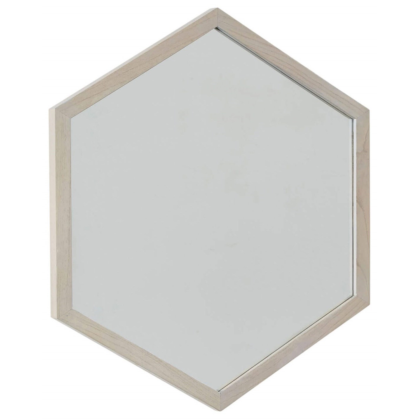 Vista Hexagon Mirror by Palliser at Stoney Creek Furniture