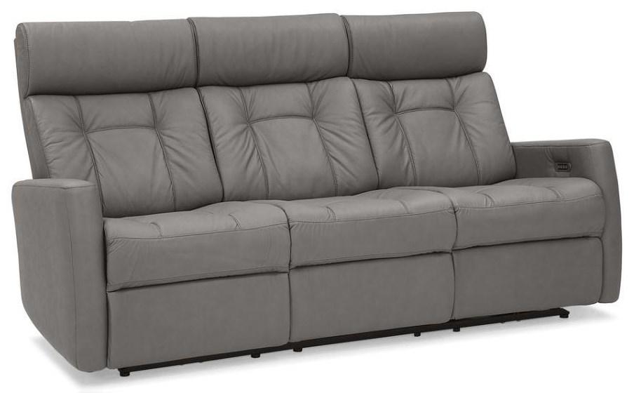 West Coast Reclining Sofa w/ Power Headrest by Palliser at Stoney Creek Furniture