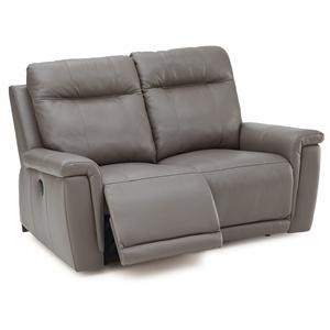 Contemporary Loveseat Recliner w/ Power