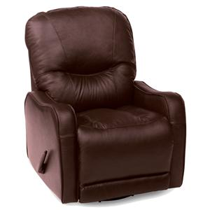 Casual 2-Motor Power Recliner with Sloped Track Arms