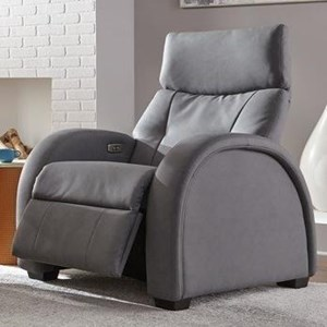 Transitional Zero Gravity Recliner with Track Arms
