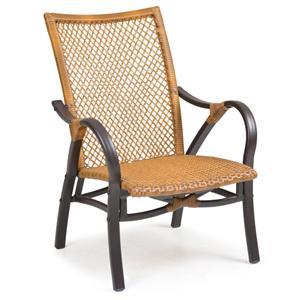 Palm Springs Rattan Empire Club Chair