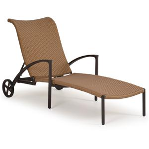 Palm Springs Rattan Empire Chaise Lounge