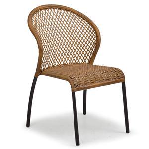 Palm Springs Rattan Empire Bistro Dining Chair