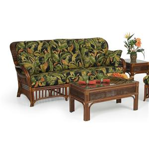 Palm Springs Rattan Islamorada Stationary Sofa