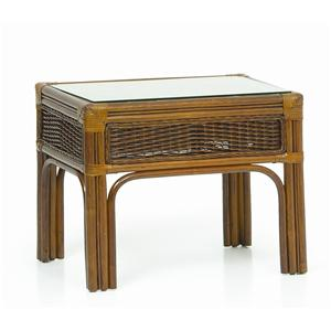 Palm Springs Rattan Islamorada End Table