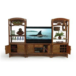Palm Springs Rattan Islamorada Wall Unit