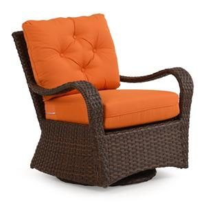 Palm Springs Rattan Kokomo Swivel Glider Chair