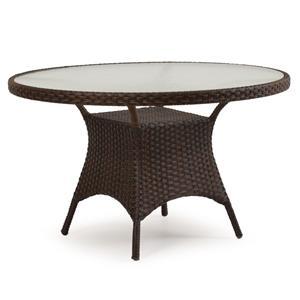 """Palm Springs Rattan Kokomo 48"""" Round Dining Table"""