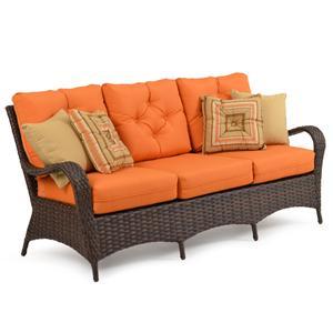 Palm Springs Rattan Kokomo Sofa