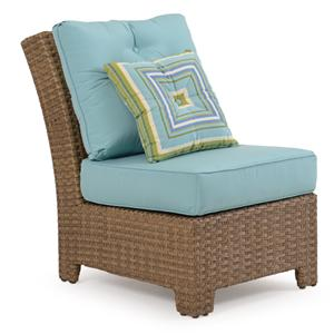Palm Springs Rattan Kokomo Armless Chair